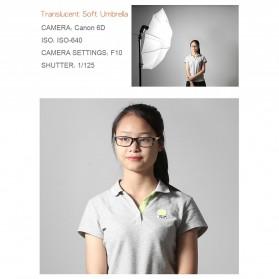 Godox Payung Studio Reflective Photography Umbrella Double Layers 84cm - UB-006 - Black White - 9