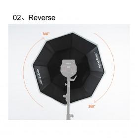 Godox Softbox Reflector Octagonal Honeycomb Grid 95cm - SB-FW-95 - Black - 8