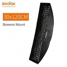 Godox Softbox Reflector Rectangular Honeycomb Grid 30x120cm - SB-FW-30120 - Black