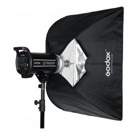Godox Softbox Reflector Umbrella Rectangular 80x120cm - SB-US-80120 - Black - 11