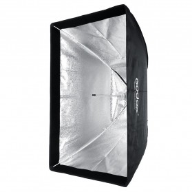 Godox Softbox Reflector Umbrella Rectangular 80x120cm - SB-US-80120 - Black - 4