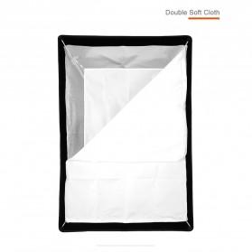 Godox Softbox Reflector Umbrella Rectangular 70x100cm - SB-US-70100 - Black - 8
