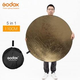 Godox Reflektor Cahaya Studio Foto 5 in 1 110cm - RFT-05 - Black