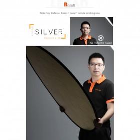 Godox Reflektor Cahaya Studio Foto 5 in 1 110cm - RFT-05 - Black - 4