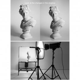 Godox Reflektor Cahaya Studio Foto 5 in 1 110cm - RFT-05 - Black - 7