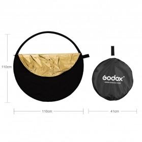 Godox Reflektor Cahaya Studio Foto 5 in 1 110cm - RFT-05 - Black - 11