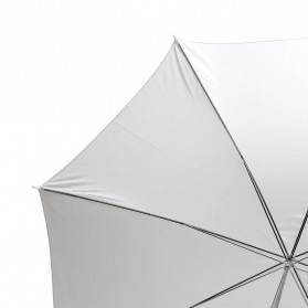 Godox Payung Studio Reflective Photography Umbrella White Translucent 75 Inch - UB-L2 - White - 4