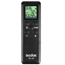 Godox Remote Control Kamera for LED Video Light LEDP260C LED500LRC LED500W/C LED1000C/W SL-60W SL-100W SL-150W SL-200W - RC-A5 - Black