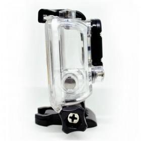Dazzne Waterproof Housing Case For GoPro Hero 3+ - DZ-307 - Black - 2