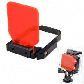 TMC Light Motion Night Under Sea Filter for GoPro Hero 4 / 3+ - Red