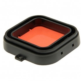 Polar Pro Aqua Cube Snap-on Dive Housing Glass Filter for GoPro 4/3+ - Black/Red - 3