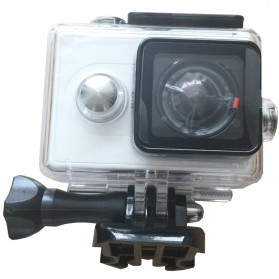 Case Waterproof IPX68 40m untuk Xiaomi Yi Sports Camera (OEM) - Black