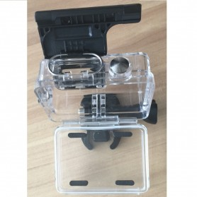 Case Waterproof IPX68 40m untuk Xiaomi Yi Sports Camera (OEM) - Black - 7