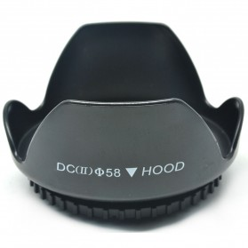 Lens Hood for Cameras 58mm (Screw Mount) - EW-73B - Black