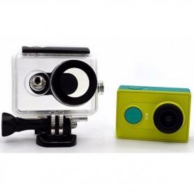 Taffware Underwater Waterproof Anti Blur Case IPX68 40m for Xiaomi Yi Sports Camera (OEM) - Black - 2