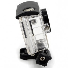 Taffware Underwater Waterproof Anti Blur Case IPX68 40m for Xiaomi Yi Sports Camera (OEM) - Black - 4