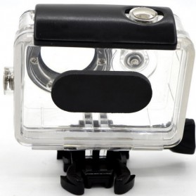Taffware Underwater Waterproof Anti Blur Case IPX68 40m for Xiaomi Yi Sports Camera (OEM) - Black - 6
