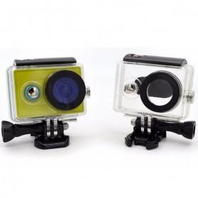 Taffware Underwater Waterproof Anti Blur Case IPX68 40m for Xiaomi Yi Sports Camera (OEM) - Black - 7