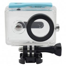 Taffware Underwater Waterproof Anti Blur Case IPX68 40m for Xiaomi Yi Sports Camera (OEM) - Blue - 2