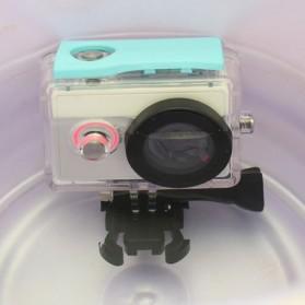 Taffware Underwater Waterproof Anti Blur Case IPX68 40m for Xiaomi Yi Sports Camera (OEM) - Blue - 6