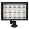 216 LED Video Light for Camera DV Camcorder Canon Nikon Sony - CN-216 - Black