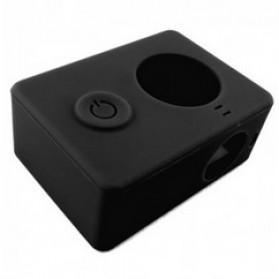 Silicon Case & Lens Cap untuk Xiaomi Yi - Black - 3