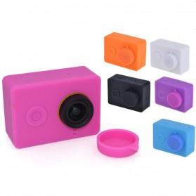 Silicon Case & Lens Cap untuk Xiaomi Yi - Black - 5