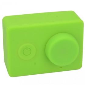 Silicon Case & Lens Cap untuk Xiaomi Yi - Green