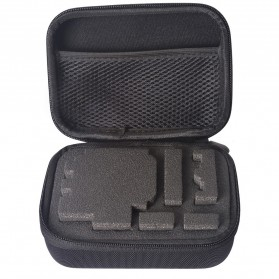 TaffSPORT Shockproof Storage Case Small Size For Xiaomi Yi / GoPro - S119 - Black - 8