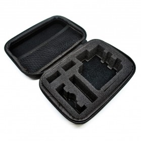 TaffSPORT Shockproof Storage Case Small Size For Xiaomi Yi / GoPro - S119 - Black - 9