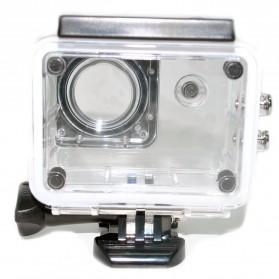 Underwater Case IPX68 40m SJCAM SJ4000 EKEN H9 Button Top - 3C - Transparent - 3
