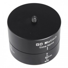 Go Motion Time Lapse 60 Min for Camera, GoPro / Xiaomi Yi / Xiaomi Yi 2 4K - Black - 4