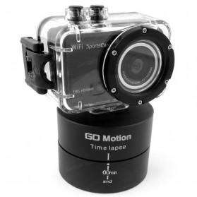 Go Motion Time Lapse 60 Min for Camera, GoPro / Xiaomi Yi / Xiaomi Yi 2 4K - Black - 8