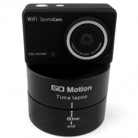 Go Motion Time Lapse 60 Min for Camera, GoPro / Xiaomi Yi / Xiaomi Yi 2 4K - Black - 9