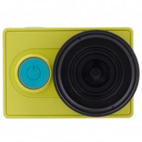 Lensa UV Filter 37mm dengan Cap untuk Xiaomi Yi - Black - 2