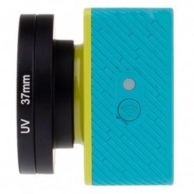 Lensa UV Filter 37mm dengan Cap untuk Xiaomi Yi - Black - 3