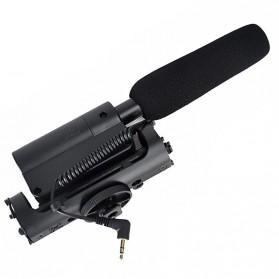 Takstar Mikrofon Kondenser Kamera - SGC-598 - Black - 3