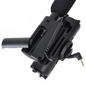 Takstar Mikrofon Kondenser Kamera - SGC-598 - Black - 5