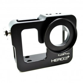 Aluminium Protective Case for GoPro Hero 3+ - Black