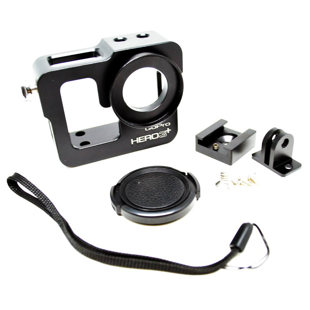 aluminium protective case for gopro hero 3 black. Black Bedroom Furniture Sets. Home Design Ideas