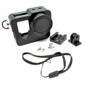 Aluminium 3rd Gen Protective Case for GoPro Hero 4 - Black - 3