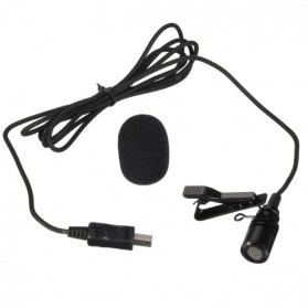 ONLENY USB Stereo Microphone for GoPro 3/4 - DZ0288 - Black - 6