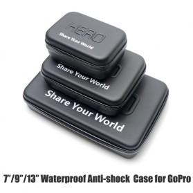 HERO Waterproof EVA Small Size Case For GoPro / Xiaomi Yi / Xiaomi Yi 2 4K - Black - 3