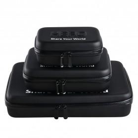 HERO Waterproof EVA Small Size Case For GoPro / Xiaomi Yi / Xiaomi Yi 2 4K - Black - 4