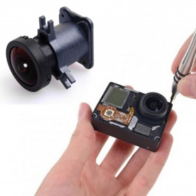 Original Lens Replacement with Lens Dock for GoPro - Black - 3