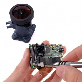 Original Lens Replacement with Lens Dock for GoPro - Black - 5