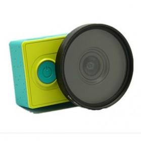 Lensa UV Filter 52mm dengan Cap untuk Xiaomi Yi - Lens-01 - Black - 2