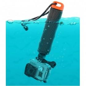 Pov Dive Buoy Floating Monopod for Action Camera GoPro / Xiaomi Yi / Xiaomi Yi 2 4k - Black/Green - 5