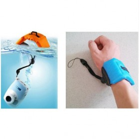 ABSEE Waterproof Floating Hand Strap for Camera GoPro / Xiaomi Yi - Blue - 7