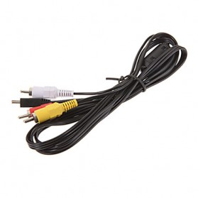 Mini USB to RCA Composite Cable for Action Camera GoPro - 4